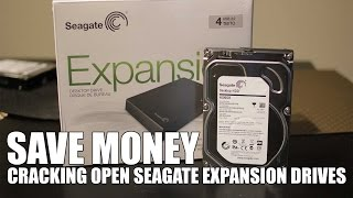 getlinkyoutube.com-Save money cracking open / disassemble seagate expansion drive 4tb