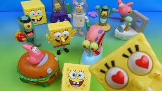 getlinkyoutube.com-2004 SPONGEBOB SQUAREPANTS THE MOVIE SET OF 12 BURGER KING KID'S MEAL TOY'S VIDEO REVIEW