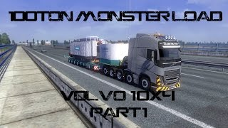 getlinkyoutube.com-ETS 2|100 Ton Monster Load Mod|Commentary| Part 1 of 2