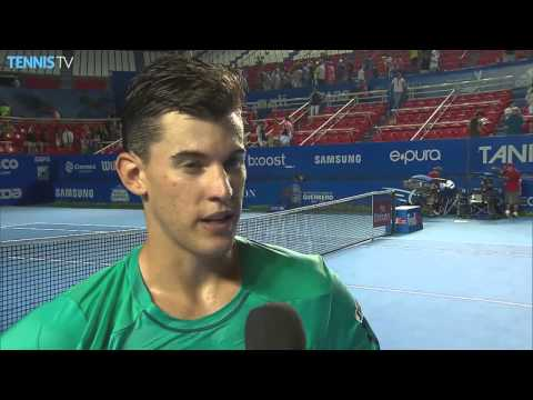 Thiem Reacts To 2R Acapulco Victory