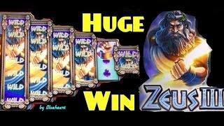 getlinkyoutube.com-ZEUS III slot machine Max Bet MEGA BIG WIN BONUS!