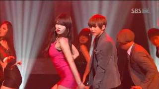 getlinkyoutube.com-Trouble Maker - Trouble Maker (트러블메이커) @SBS Inkigayo 인기가요 20111218