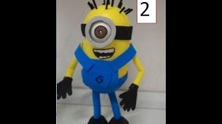 getlinkyoutube.com-como fazer minios em eva 3d