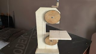 getlinkyoutube.com-Making a Homemade Bandsaw (drill powered)  - El Yapımı Şerit Testere