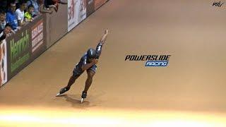getlinkyoutube.com-Powerslide Racing - 200m Dobbin Sprint Men @ Arena Geisingen 2016
