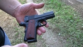 getlinkyoutube.com-Officer Model 1911: A SubCompact with Balls