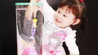 getlinkyoutube.com-[ENG SUB] 로봇피쉬 인어공주 수족관 장난감 놀이 Robot Fish Little Mermaid Toys Play Игрушки おもちゃ 라임튜브