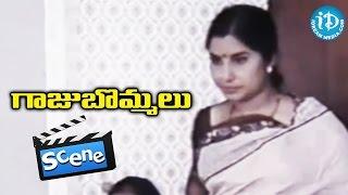 getlinkyoutube.com-Gaaju Bommalu Movie Scenes - Sarath Babu Comedy    Gummadi    Poornima    Nutan Prasad
