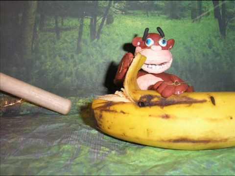 mono, animacion de plastilina, 1º bach