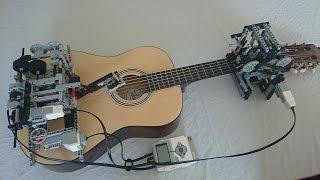 getlinkyoutube.com-Little Talks Guitar Cover by Lego Mindstorms EV3