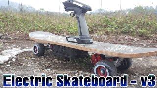 getlinkyoutube.com-How to Build a Electric Skateboard - v2 up v3