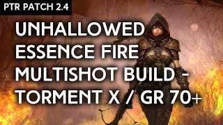getlinkyoutube.com-Patch 2.4 PTR - Unhallowed Essence Torment X / GR 70+ Build - Season 5