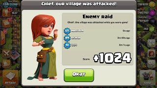 Clash of Clans Town Hall 5 Defense (CoC TH5) BEST Trophy Base Layout Defense Strategy-2017 UPDATE