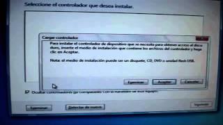 getlinkyoutube.com-Cuando no detecta el disco sata el pc cargar controladores.wmv