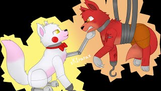 getlinkyoutube.com-[SpeedPaint][FNAF] Foxy x Mangle!