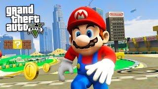 getlinkyoutube.com-SUPER MARIO ODYSSEY!! (GTA 5 Mods)