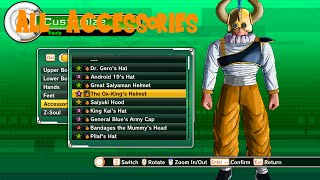 getlinkyoutube.com-Dragon Ball Xenoverse - All Accessories
