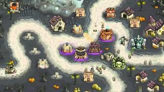 getlinkyoutube.com-Kingdom Rush Frontiers Walkthrough Level 19 Bonesburg [Veteran] [3 Stars]