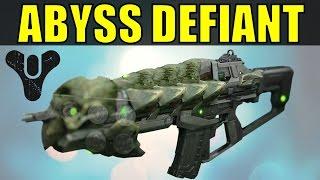 getlinkyoutube.com-Abyss Defiant - Crota's End Raid Auto Rifle (Hard Mode)