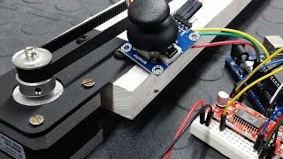 getlinkyoutube.com-Control a Stepper Motor using an Arduino, a Joystick and the Easy Driver - Tutorial