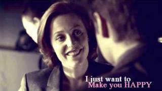 "getlinkyoutube.com-""I just want to make you happy""... Mulder/Scully"