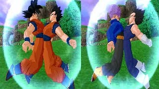 getlinkyoutube.com-Fusion Vegetrunks VS Gokhan Dragon Ball Z Budokai Tenkaichi 3 Mod
