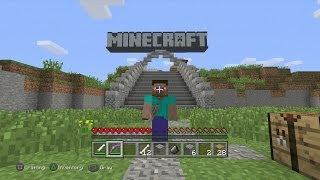 Minecraft PS3 Edition-Demo Gameplay