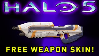 getlinkyoutube.com-Halo 5: Guardians - FREE ASSAULT RIFLE WEAPON SKIN