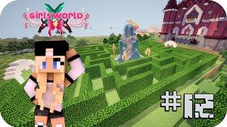 Laberinto + salas de baules! - Girl's World Ep 12 Minecraft