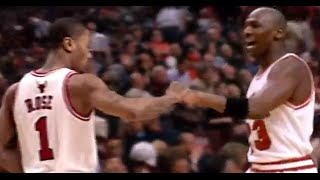 getlinkyoutube.com-Derrick Rose & Michael Jordan - Wings