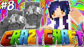 getlinkyoutube.com-Weeping Angel Jump Scare!! - YouTuber Survival Crazy Craft 3.0 - Ep 8