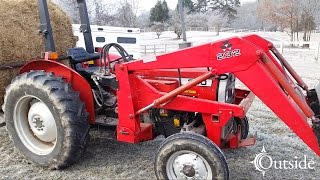 Massey Ferguson 240 Cold Start