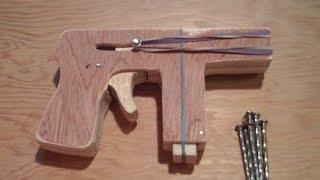 getlinkyoutube.com-Homemade Wooden Gun