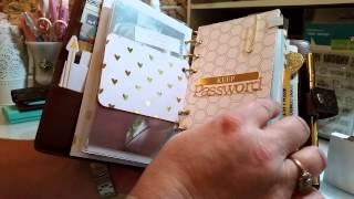 getlinkyoutube.com-2015 LV Monogram MM Agenda Set-up  + Small Kate Spade haul