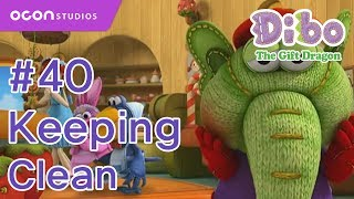 getlinkyoutube.com-[OCON] Dibo the Gift Dragon _Ep40 Keeping Clean( Eng dub)
