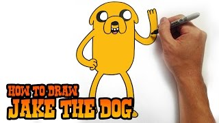 getlinkyoutube.com-How to Draw Jake the Dog - Adventure Time- Video Lesson