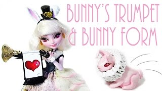 getlinkyoutube.com-Bunny Blanc's Trumpet and Bunny Form [EVER AFTER HIGH]