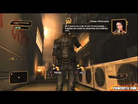 Deus Ex Human Revolution - Ghost Trophy / Achievement Guide
