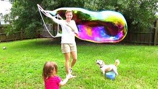 getlinkyoutube.com-Uncle Bubble Unbelievabubble Wizard Bubble Wand