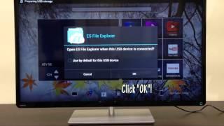 getlinkyoutube.com-How to install APK file onto Toshiba L4300 Android TV