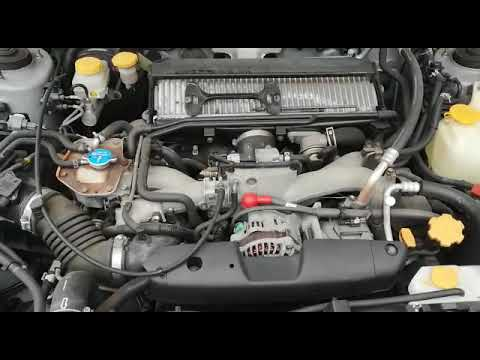 "Запуск двс ej205 Subaru Forester Sg 5 ""248"" oppozit_vl"