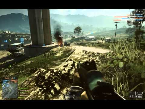 My first recorded Battlefield 4 gameplay