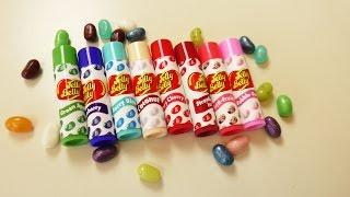 getlinkyoutube.com-NEUE Jelly Bean Challenge PLUS Jelly Belly Lipbalm Teil 1 | Challenge mit Eva & Kathi