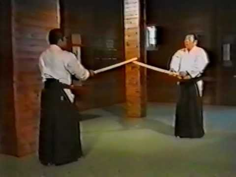 Morihiro Saito  ken 7 Suburi Ki Musubi No Tachi 5 Kumi Tachi