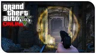 getlinkyoutube.com-GTA 5 Online - NEW SECRET MINESHAFT LOCATION! (Where To Find) [GTA V PS4 / Xbox One]