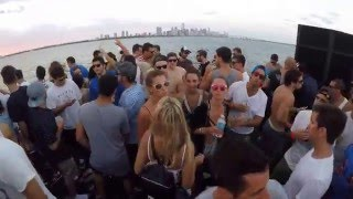 getlinkyoutube.com-Hernan Cattaneo B2B Nick Warren @ Never get out of the boat, Biscayne Lady - Miami. 15 March '16