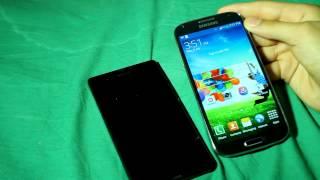 مقارنه بين سوني Z و جلاكسي اس ٤ Sony Z Vs Galaxy S4