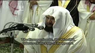 getlinkyoutube.com-Translation| Night 1 Makkah Taraweeh 2013 Sheikh Sudais