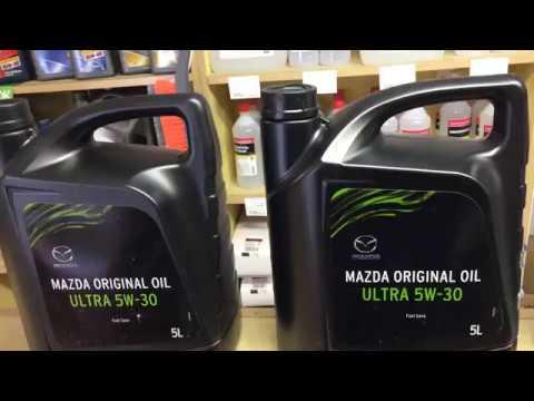 Моторное масло Mazda (как отличить подделку)