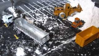 getlinkyoutube.com-Parking lot snow removal stop motion part 4